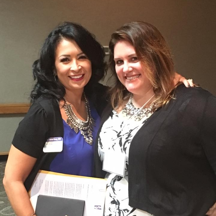Diana with Heather Brown, Prevention Administrator at Mercy Maricopa Integrated Care