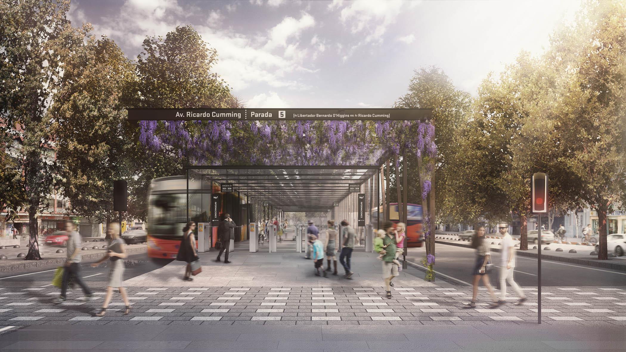 (8) Alameda Parque Central (2015) ©   Lyon-Bosch Arquitectos + Martic para  LOFscapes