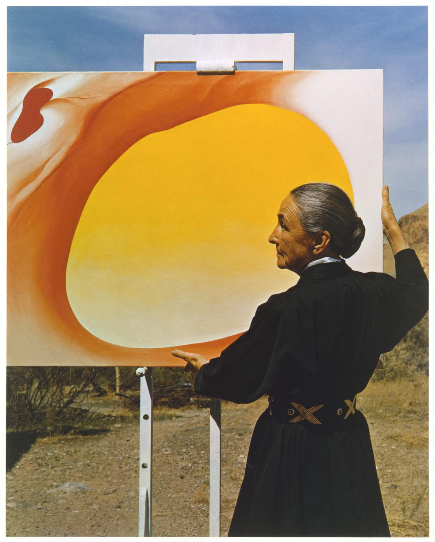 (9) Georgia O'Keeffe (c.1960) © Michael A. Vaccaro