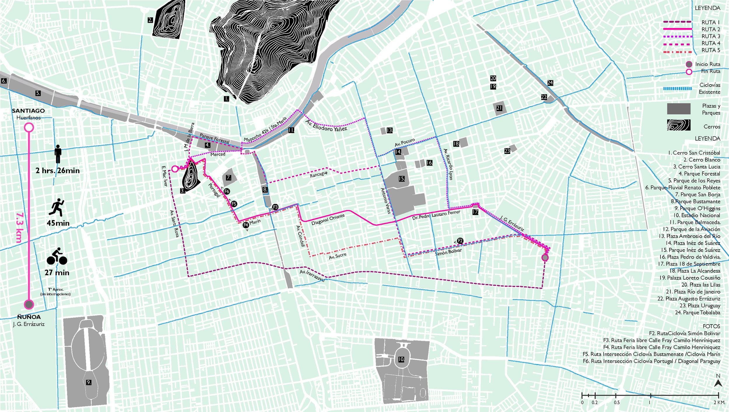(7) Cartografía Rutas de lo Cotidiano © Francisca Salas P. para LOFscapes