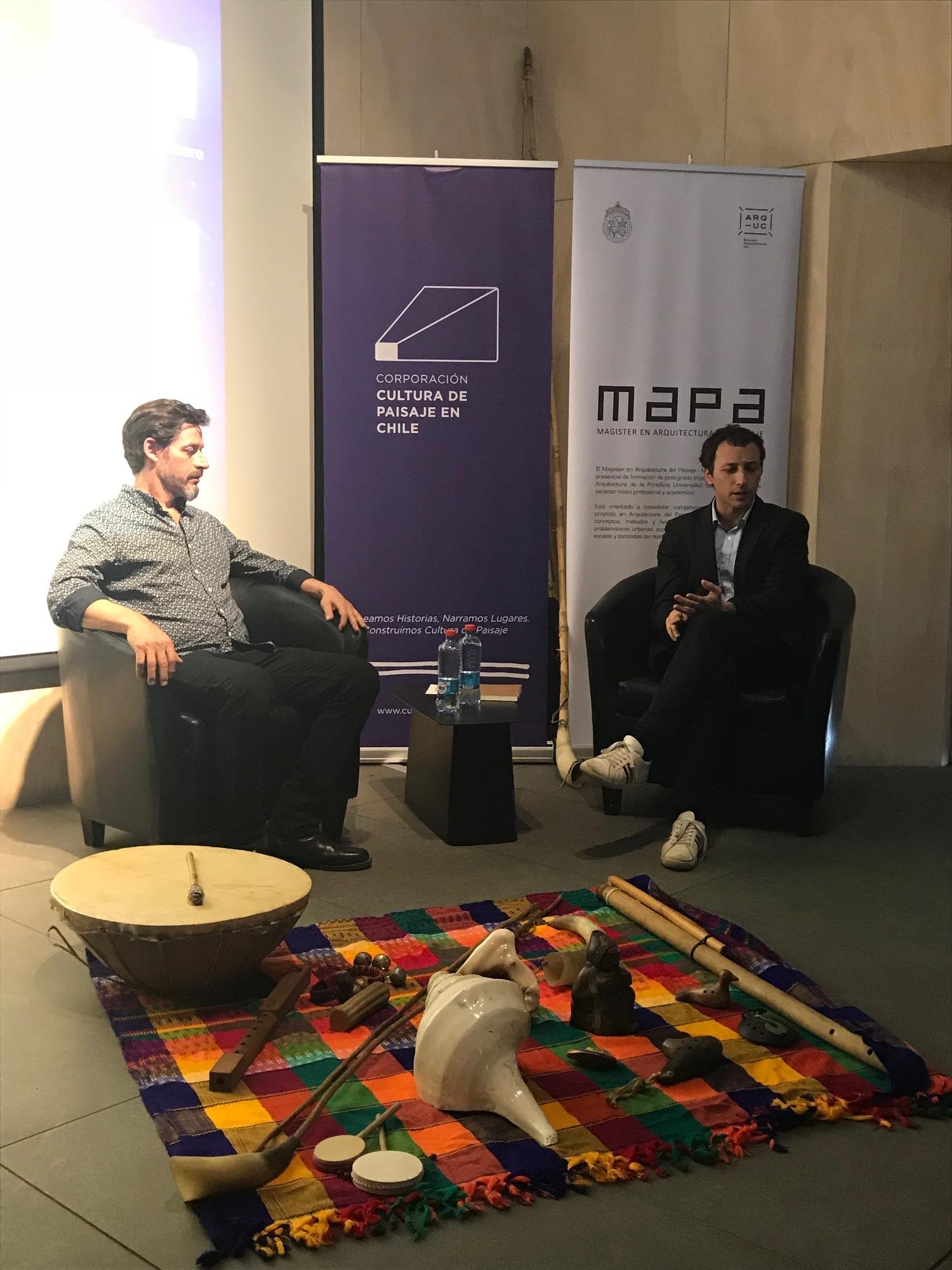"""(1) Diálogo """"Sonidos del Paisaje Chileno"""" (octubre 2017), Claudia Larrain Mery"""