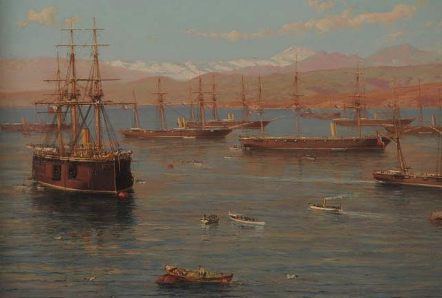 (3) Somerscales, The Chilean Squad (1889) ©Colección privada