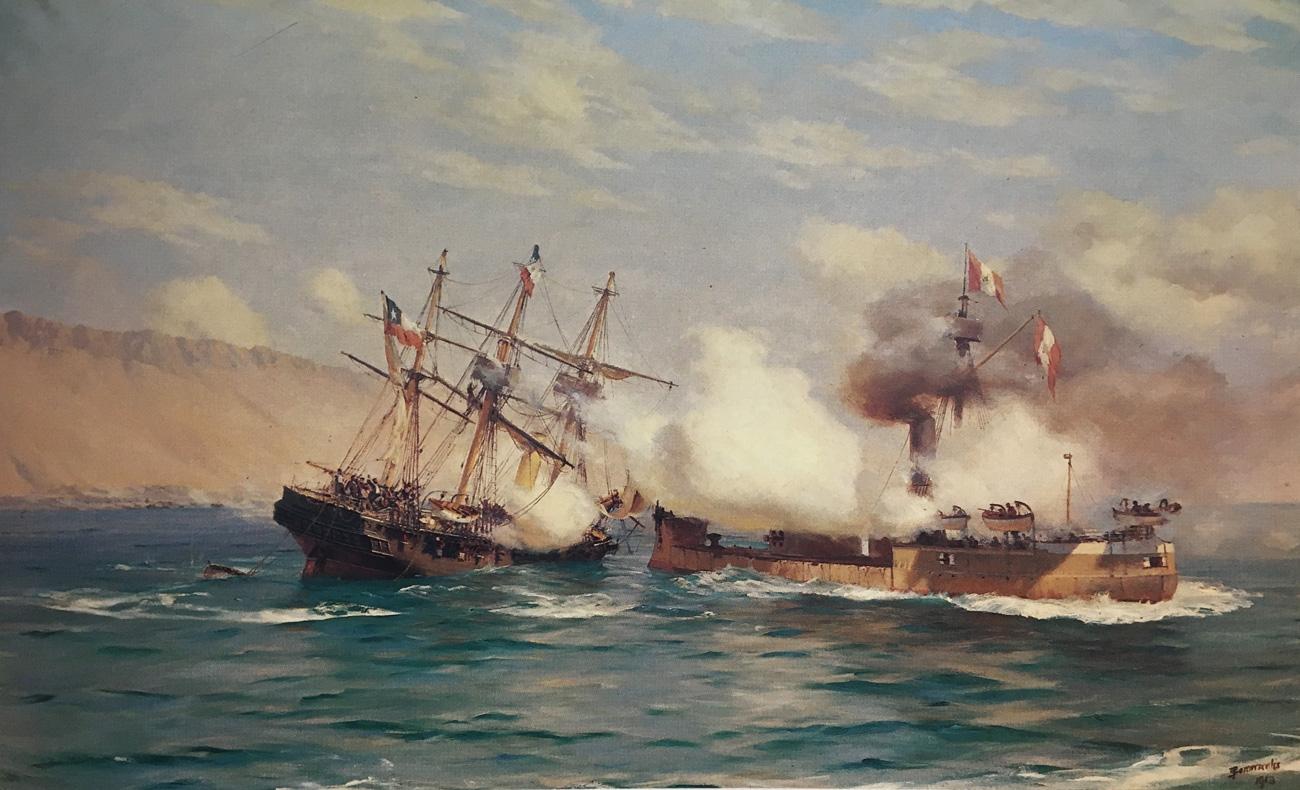 (4) Somerscales,  Battle of Iquique  (1913) ©Colección privada