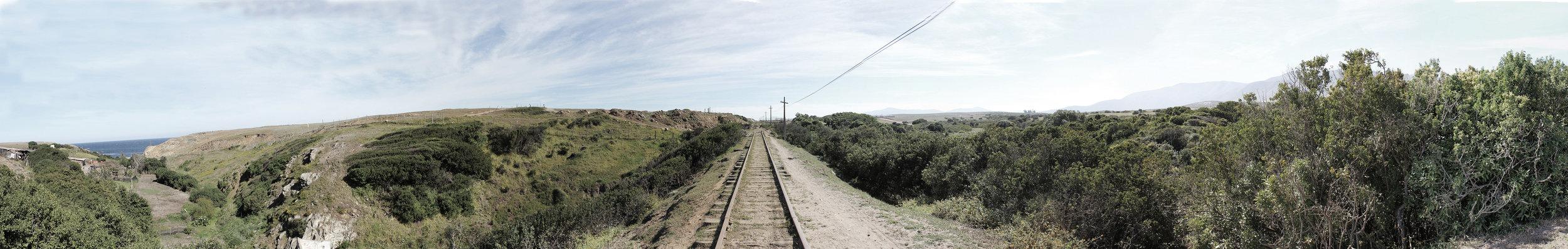 (5) Quebrada de Quereo y línea férrea © Maximiliano, Millan S. Para LOFscapes.