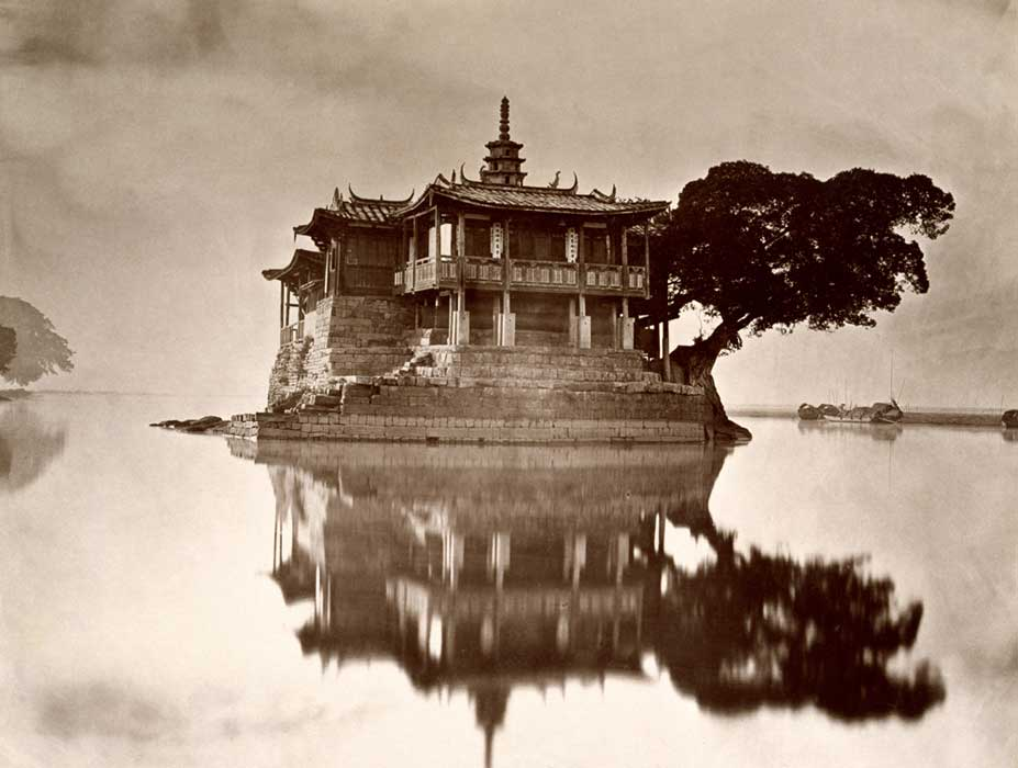 (1)  Pagoda Island, China  (ca.1871) © John Thompson