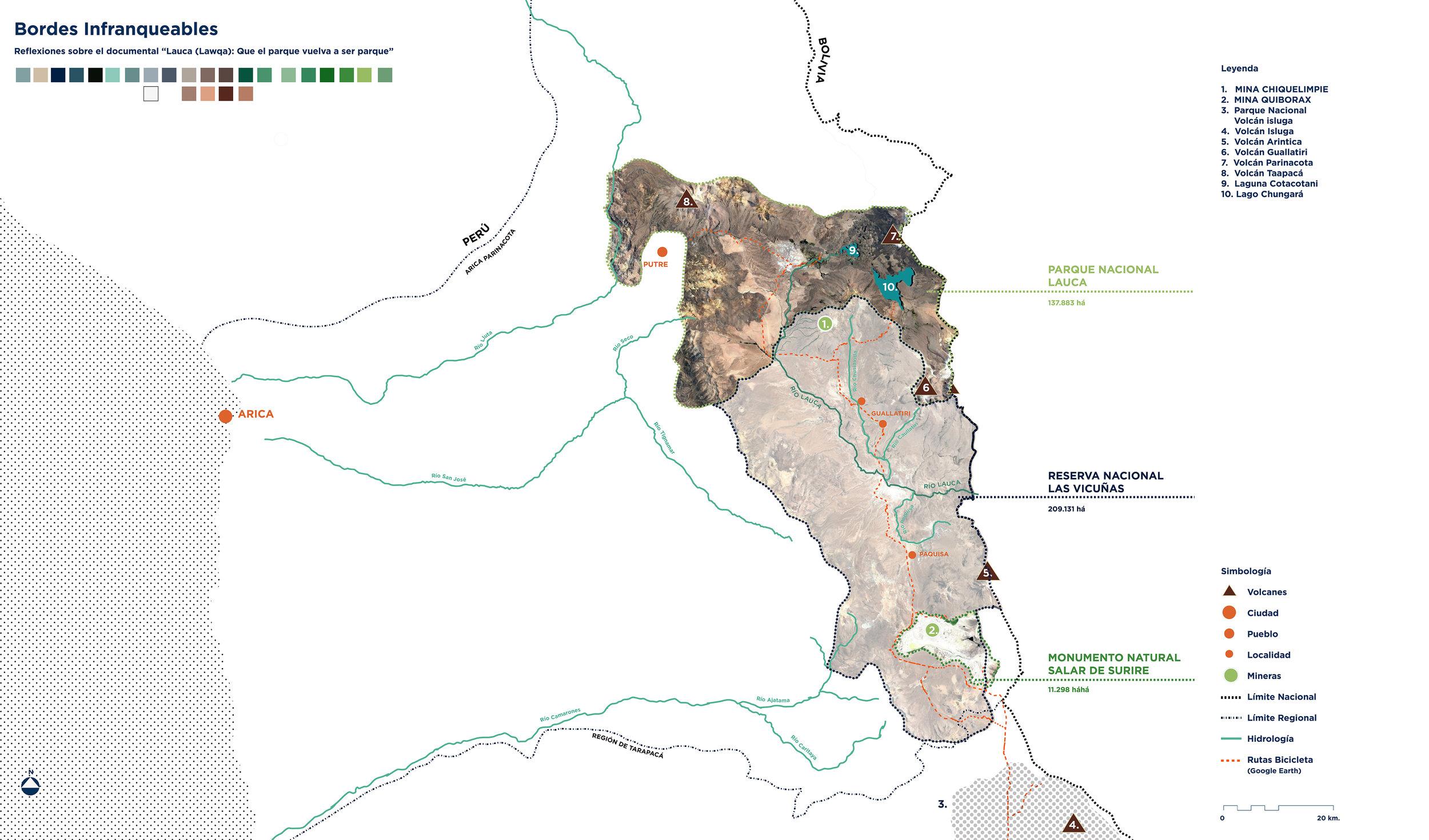 MAPA Cilcoruta 1(7) Mapa Bordes Infranqueables  © Francisca Salas para LOFscapes