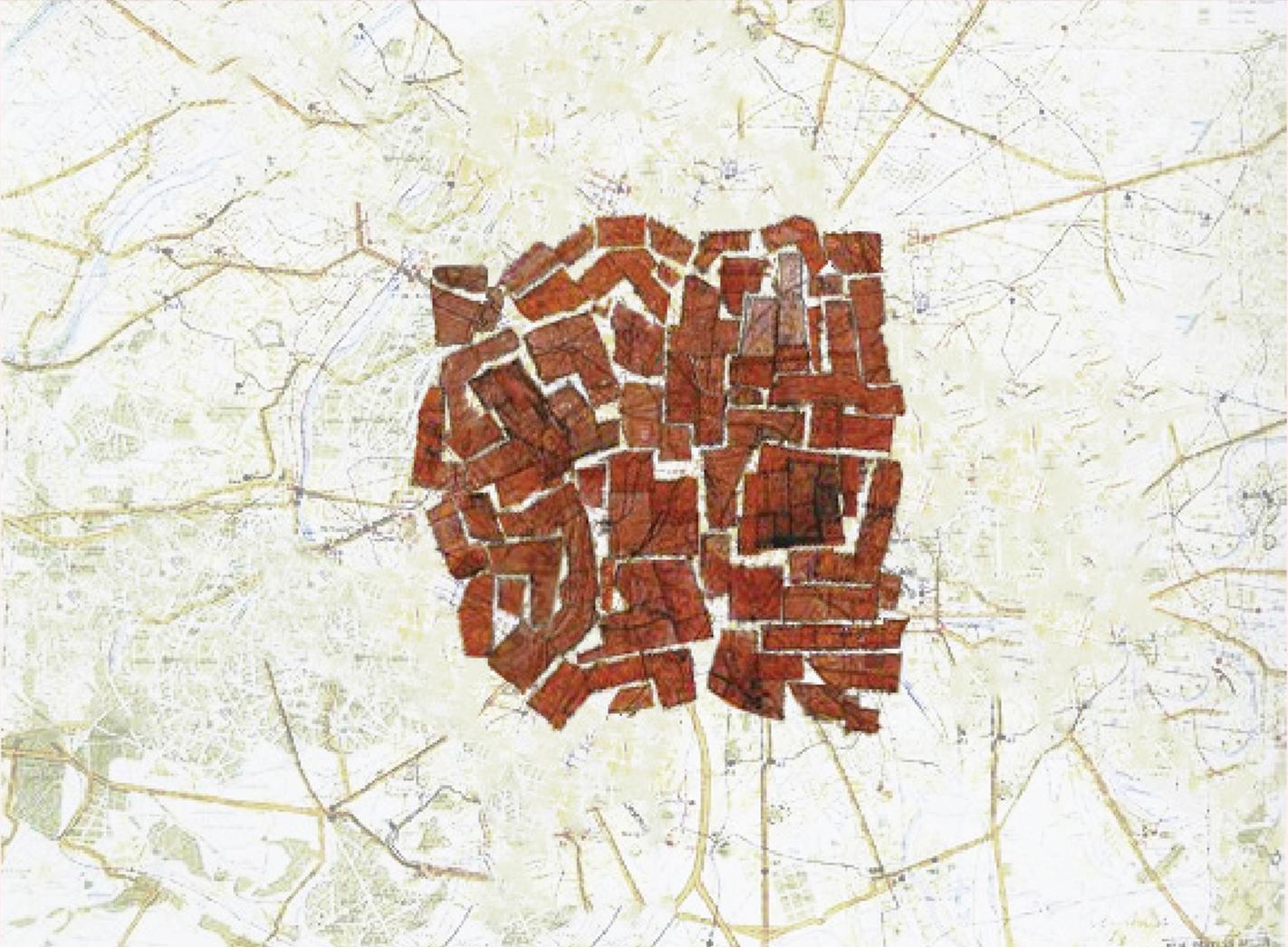 (3) Tipología de Mancha © M Soledad, Boetsch M. para  LOFscapes. Elaborado en base a Constant,  New Babylon (1963) – © Haags Gemeentemuseum.