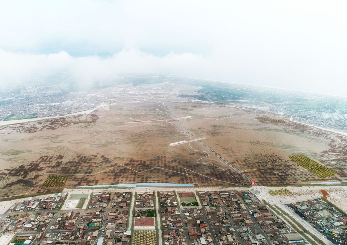 (8) Vista aérea del Manto ecológico © Alfaro, Lachhwani, Mckay  para LOFscapes.