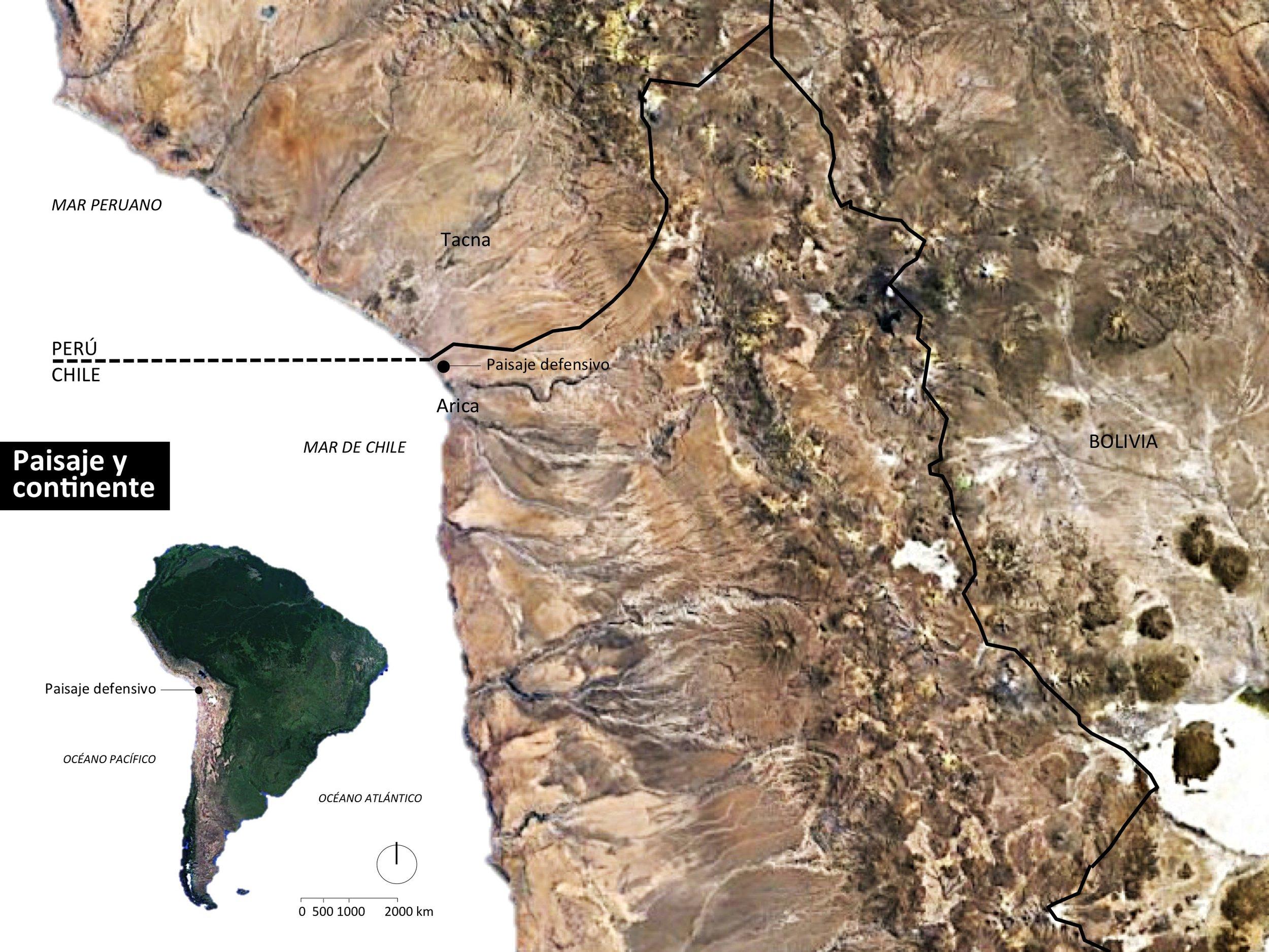 (5) El paisaje defensivo en el continente (2019) – © Sergio Ortega C. con Google Earth Pro.jpg
