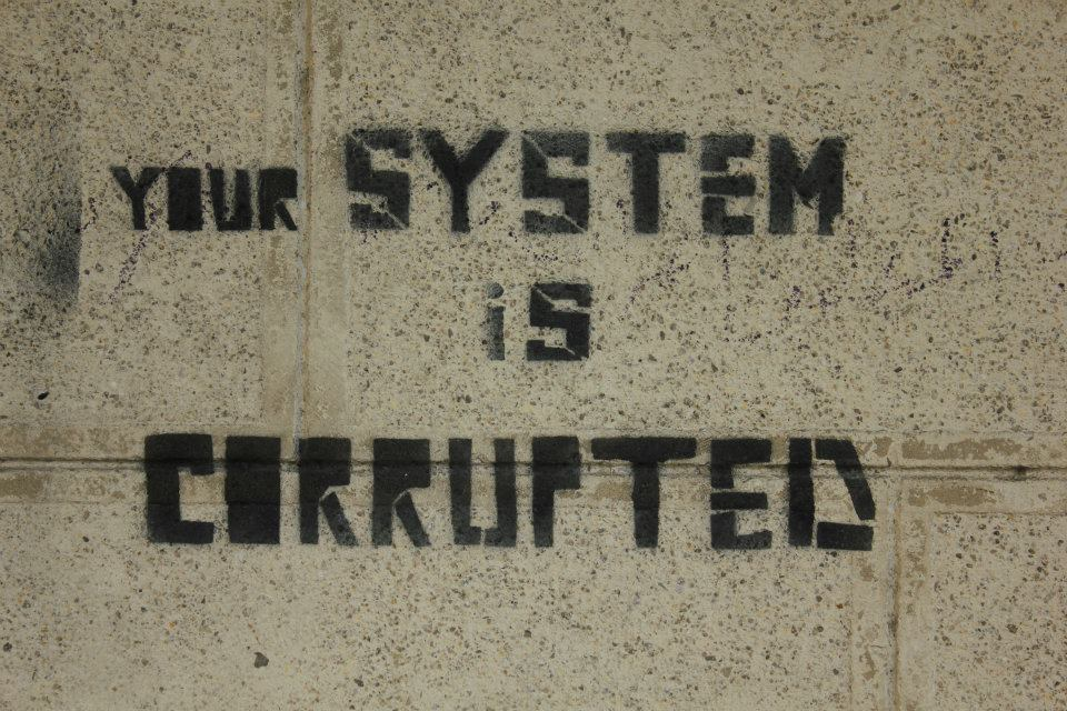 Your System is Corrupted