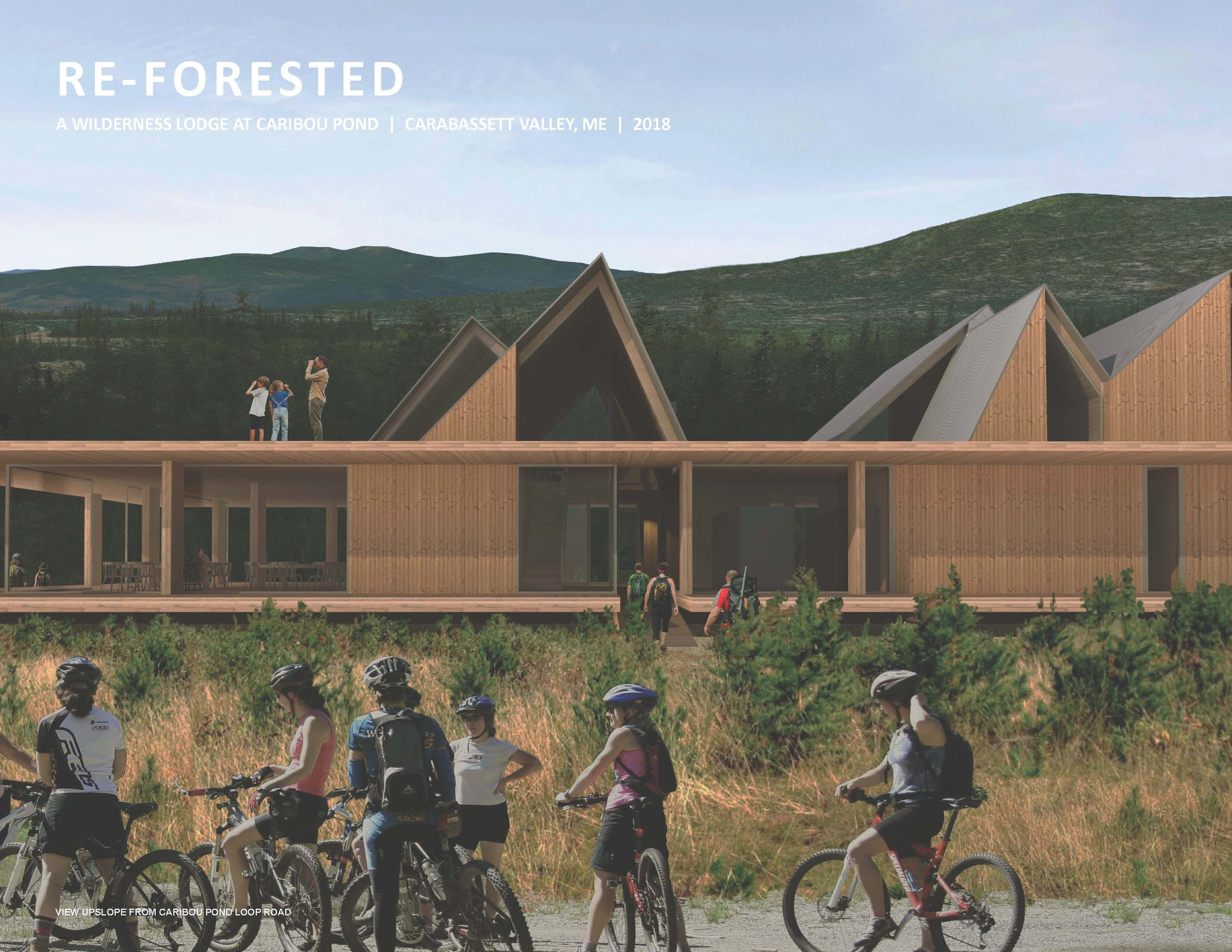 CITATION / UNBUILT PROFESSIONAL    Re-Forested, Carrabassett Valley   STEVE HOFFMAN & MABU ARCHITECTURE