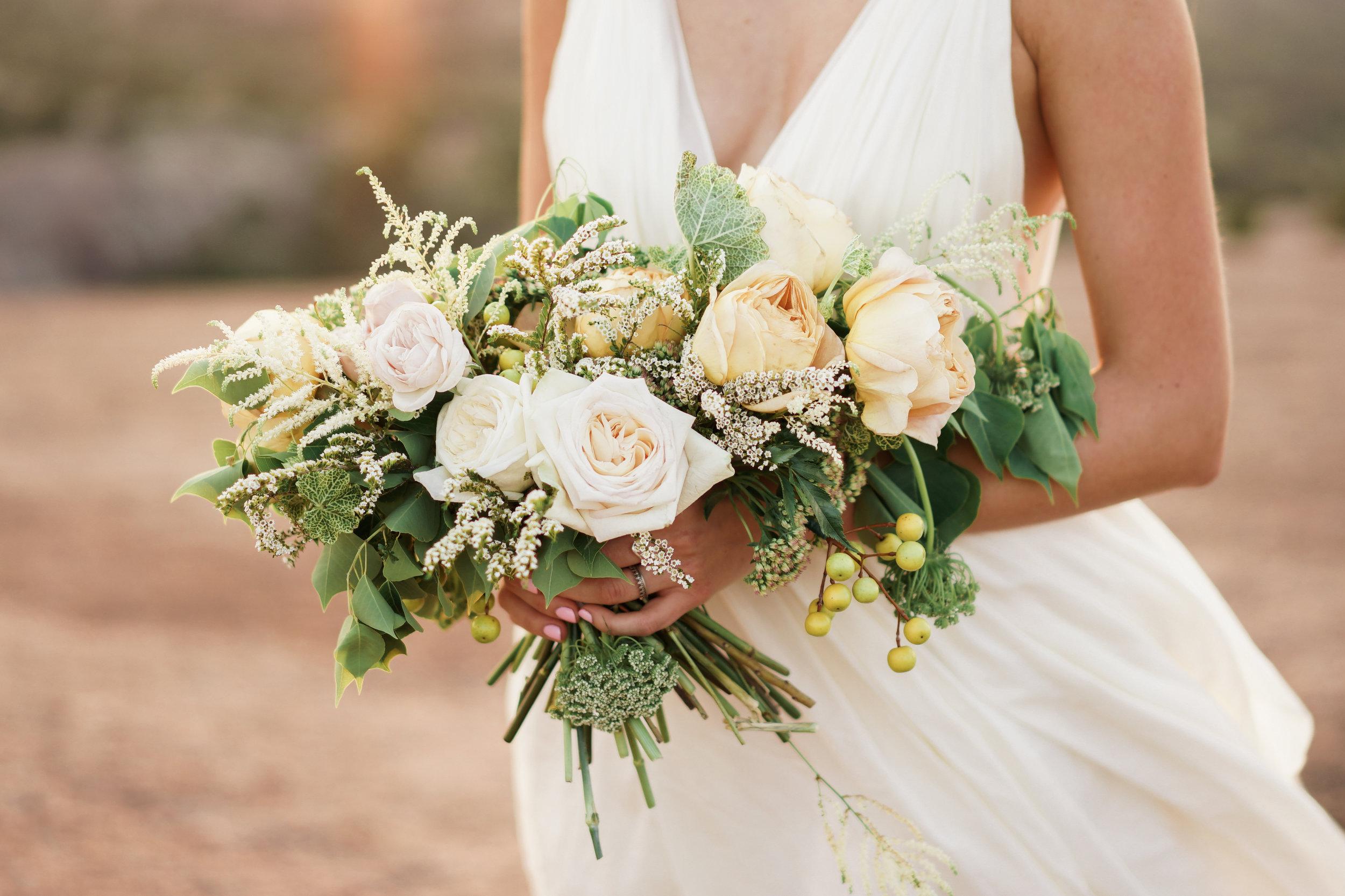 Fine Art Austin Wedding Photographer. Enchanted Rock Bridal Session. Florals by Clementine ATX.