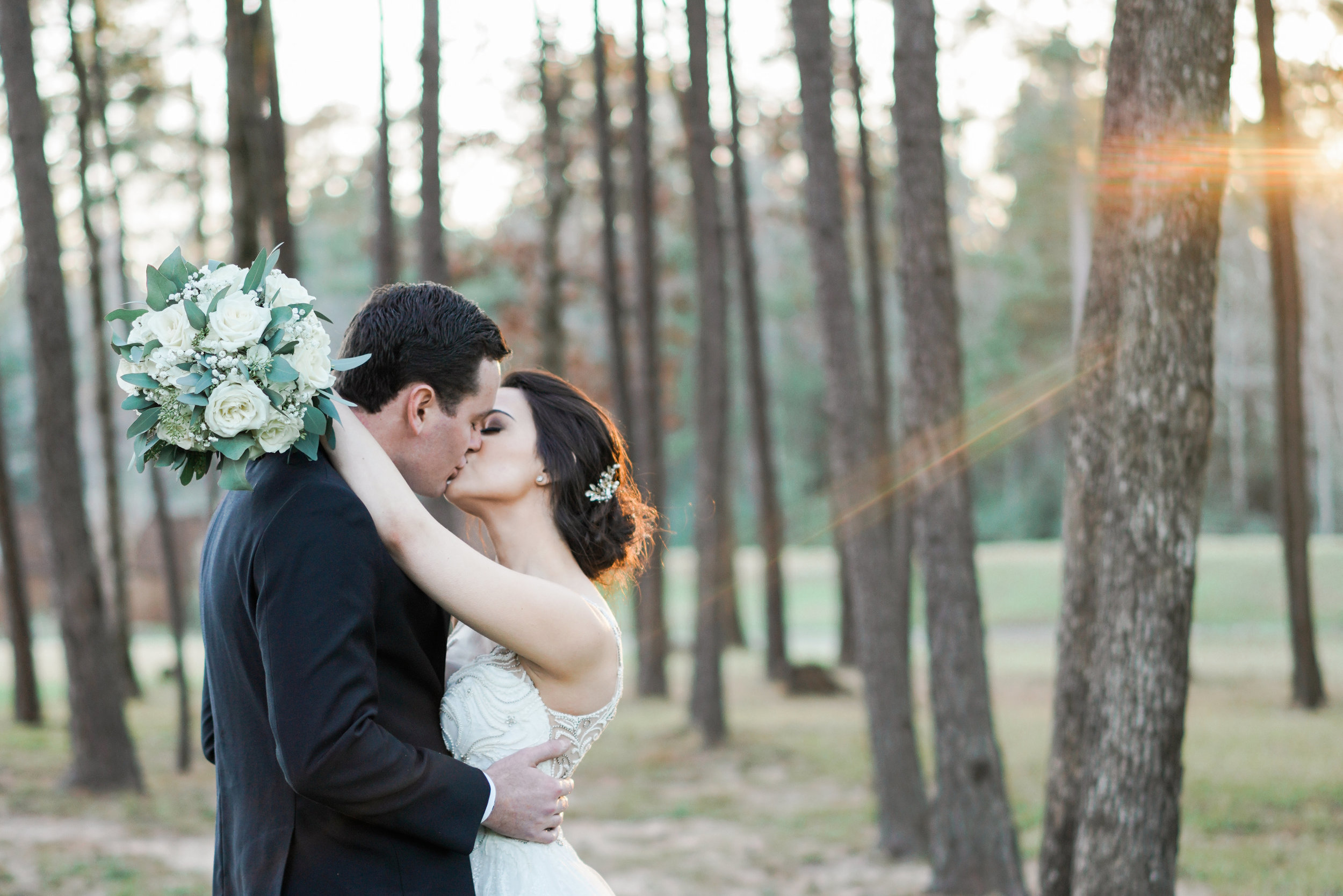 The Springs Event Venues- Lake Conroe wedding photographer. The perfect winter wedding. Houston and Austin wedding photographer.