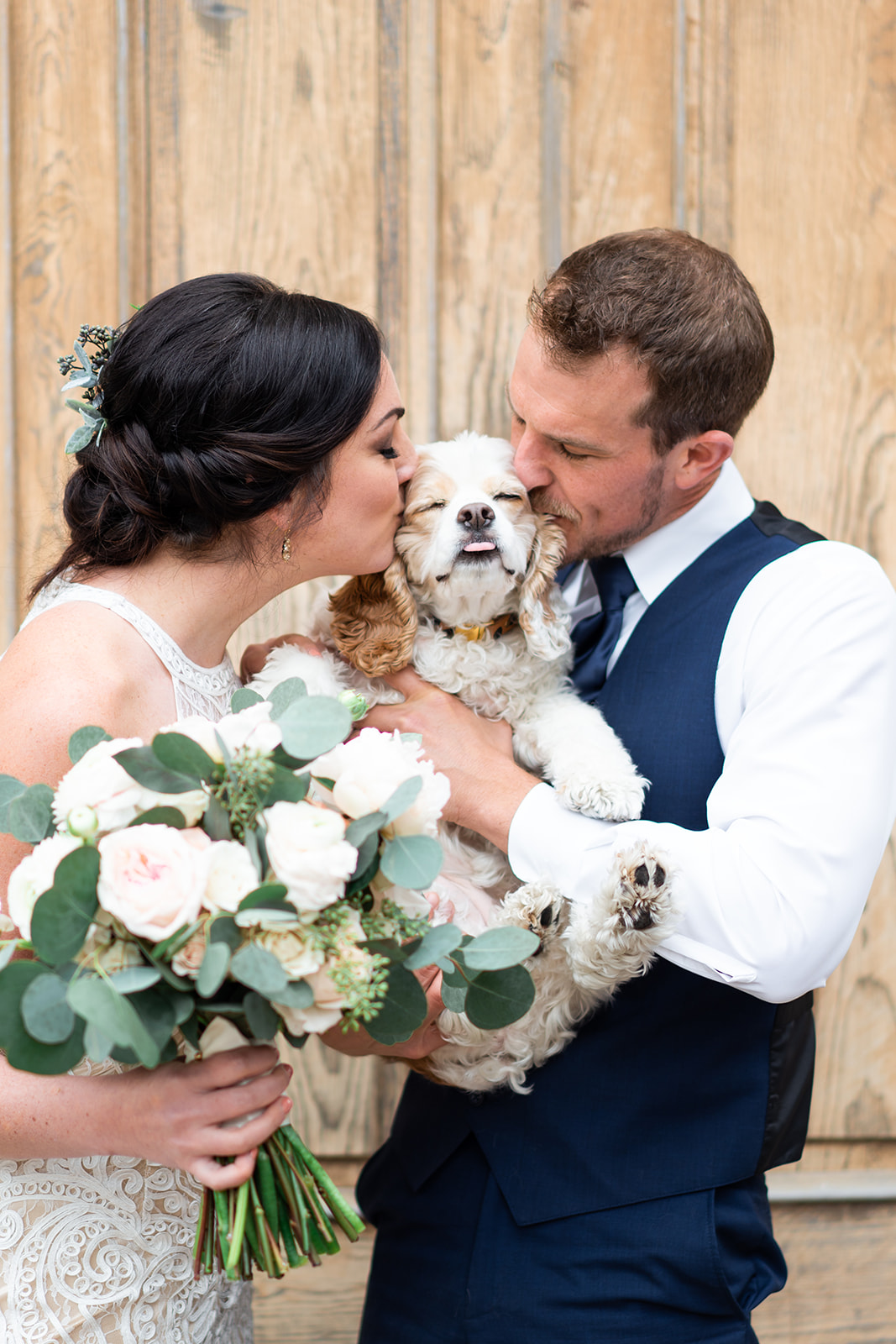Austin Wedding Photographer | Intimate Austin Wedding Photos | Chapel Dulcinea Wedding | Austin Wedding Venue | Austin Elopement | Caitlin Rose Photography | Dogs in Weddings