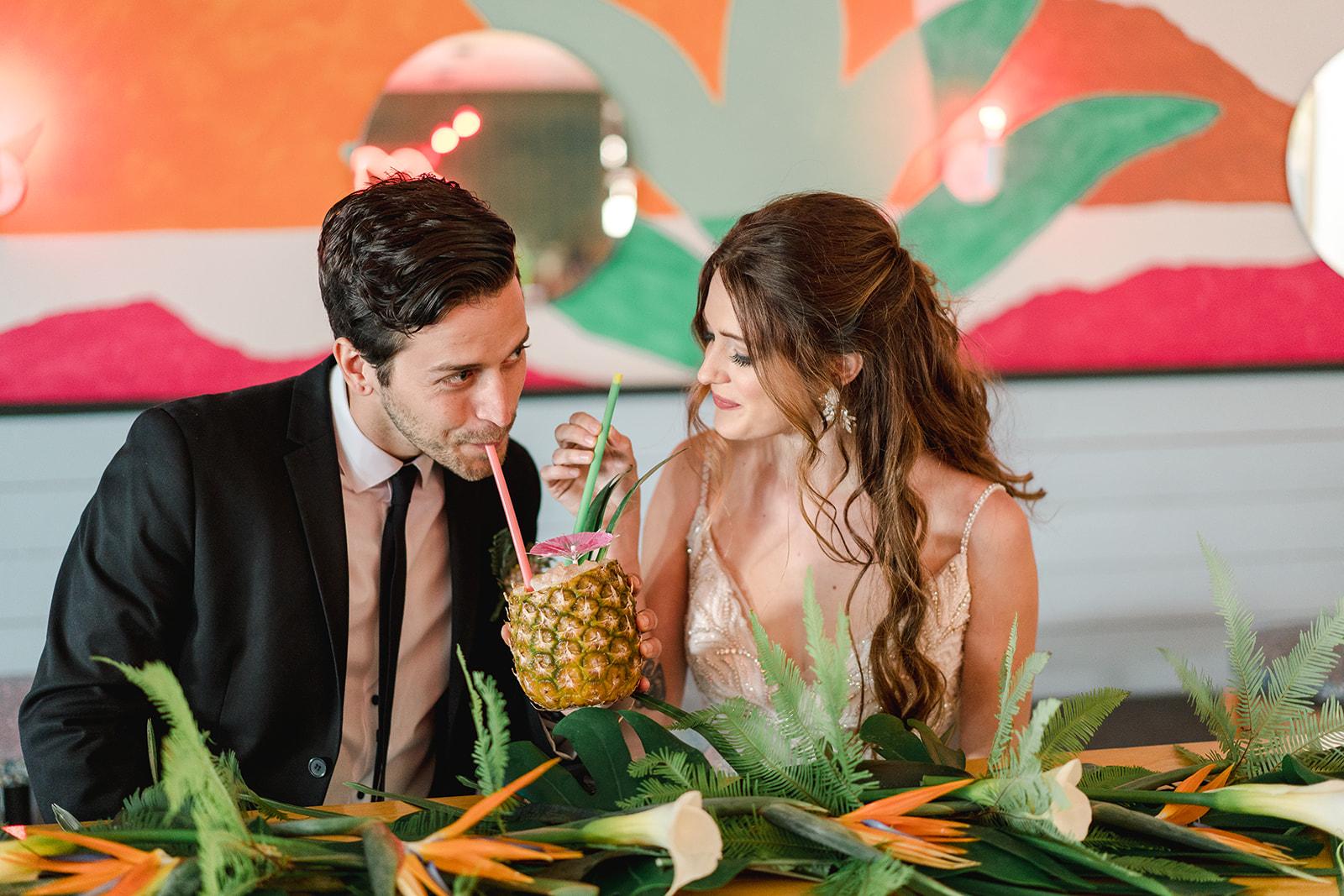 the last straw wedding, kinda tropical wedding, laguna gloria wedding, tropical austin wedding photographer