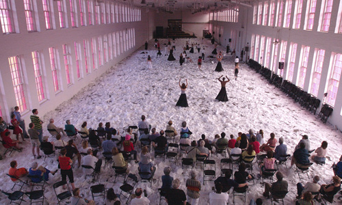 MASS MoCA   Curator, Performing Arts+Film (1998 - present)