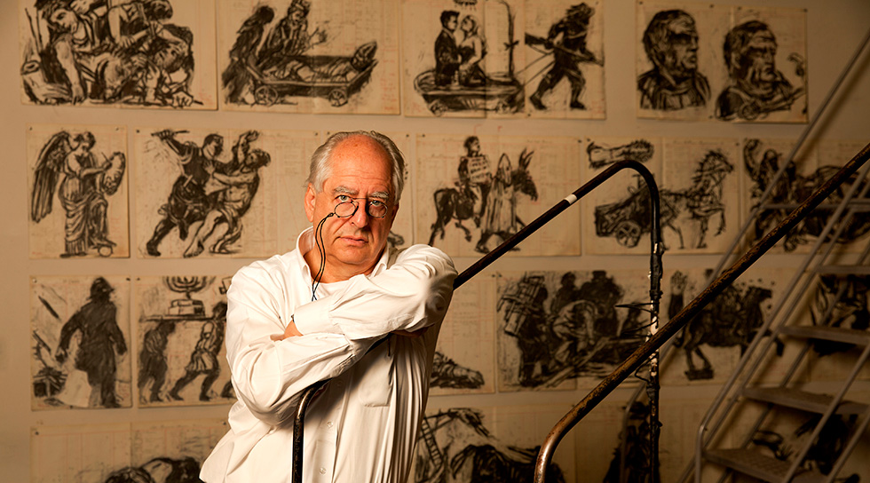 William Kentridge's  Triumphs and Laments: A Project for Rome   Executive Producer: Piazza Tevere, Rome 2016