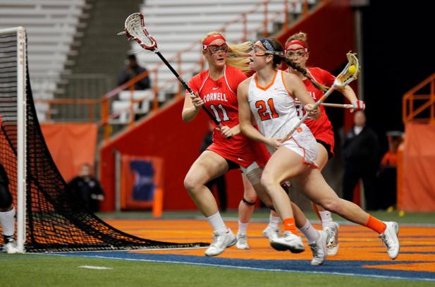 Syracuse attacker, Kayla Treanor