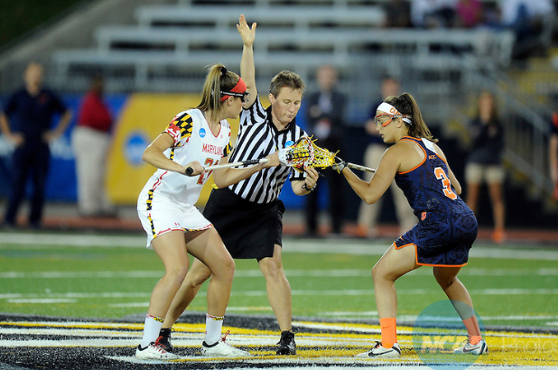 Maryland midfielder, Taylor Cummings