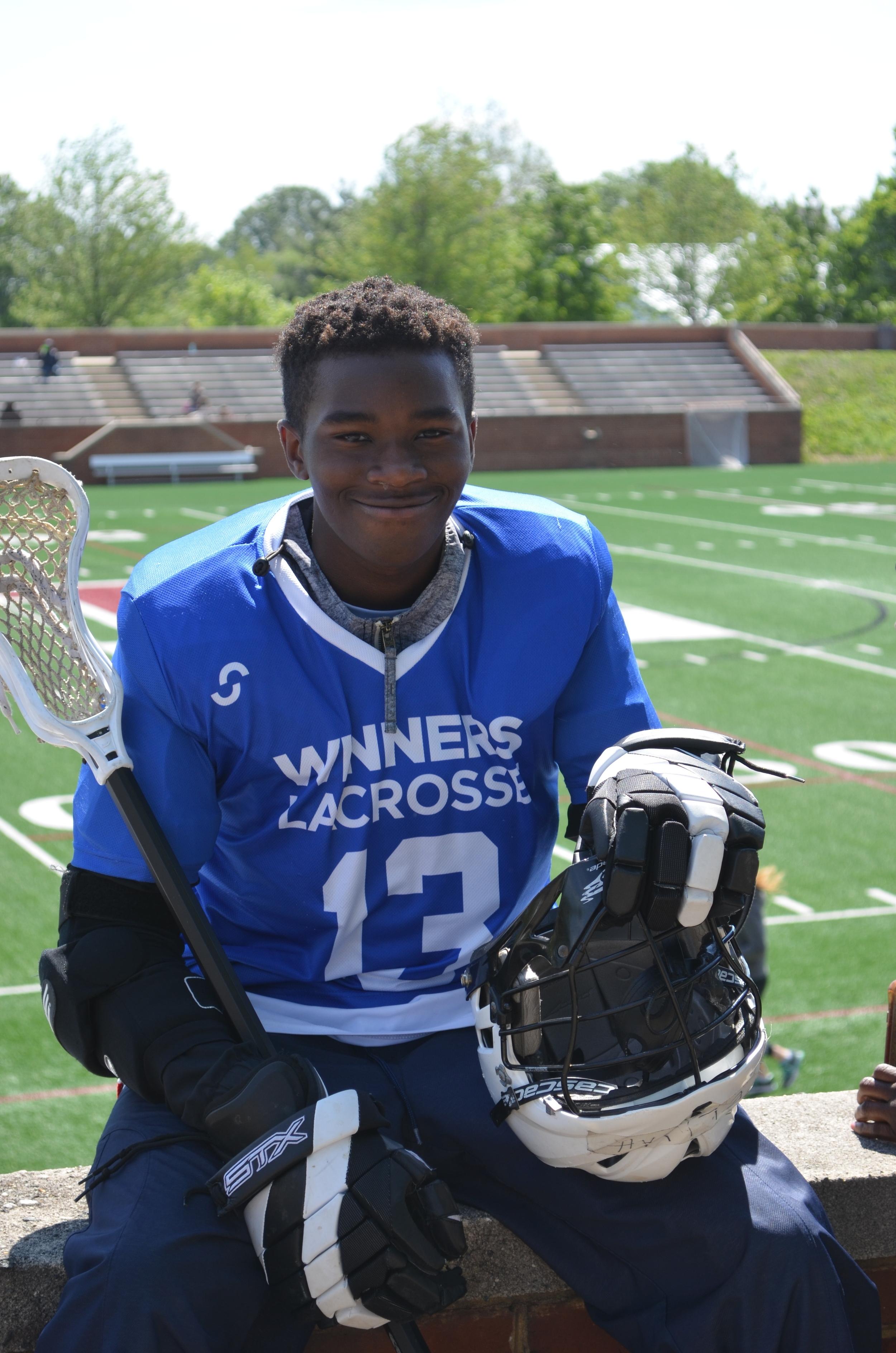 WINNERS Lacrosse Alice Deal Middle School Boys Lacrosse Player