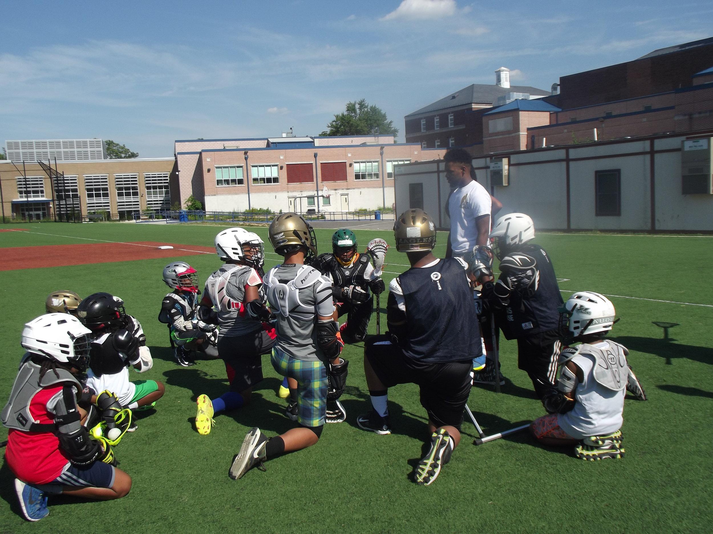Zero Gravity Lacrosse Camp WINNERS Lacrosse