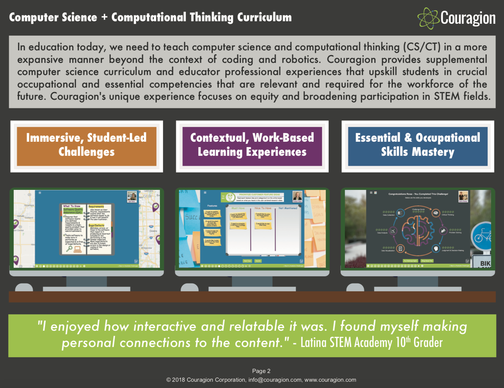 Computational Thinking Curriculum