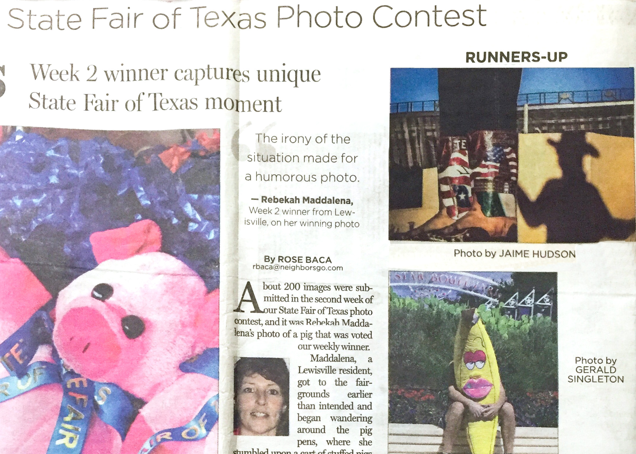 State Fair of Texas Photo Contest 2015