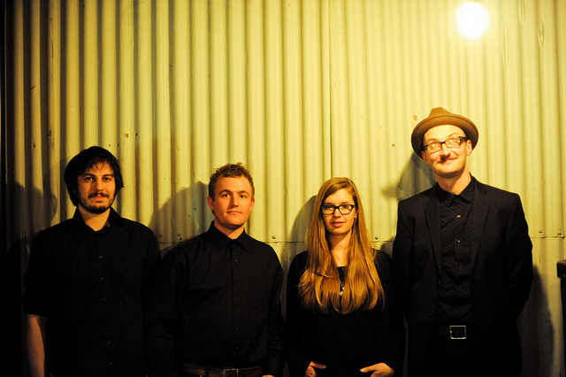 band 2014 / Comapin / Collins / Rossiter / Eldridge (c) Justyn Denney Strother 2014