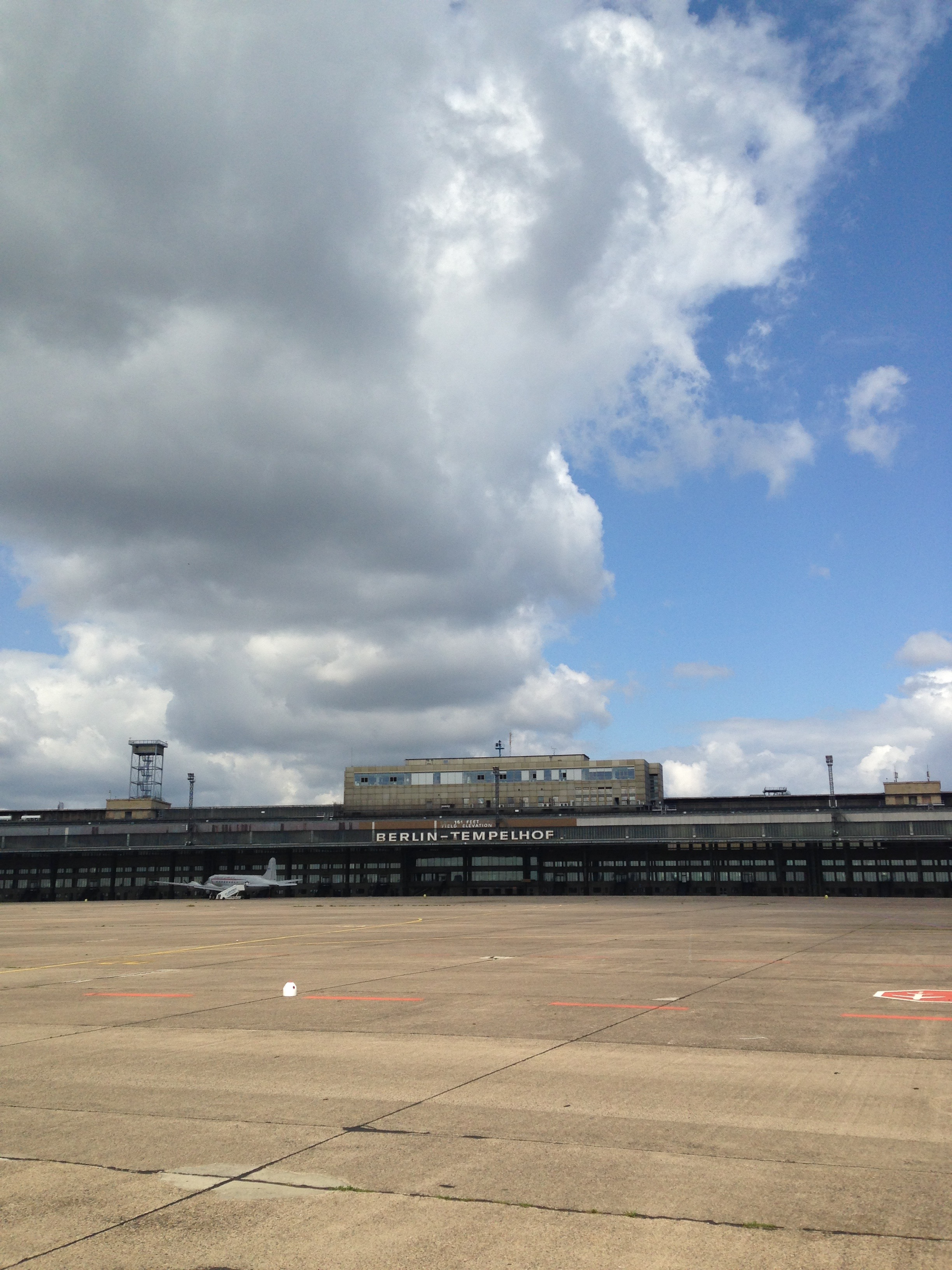 Tempelhoferfeld (the set for District 2 in the Hunger Games)
