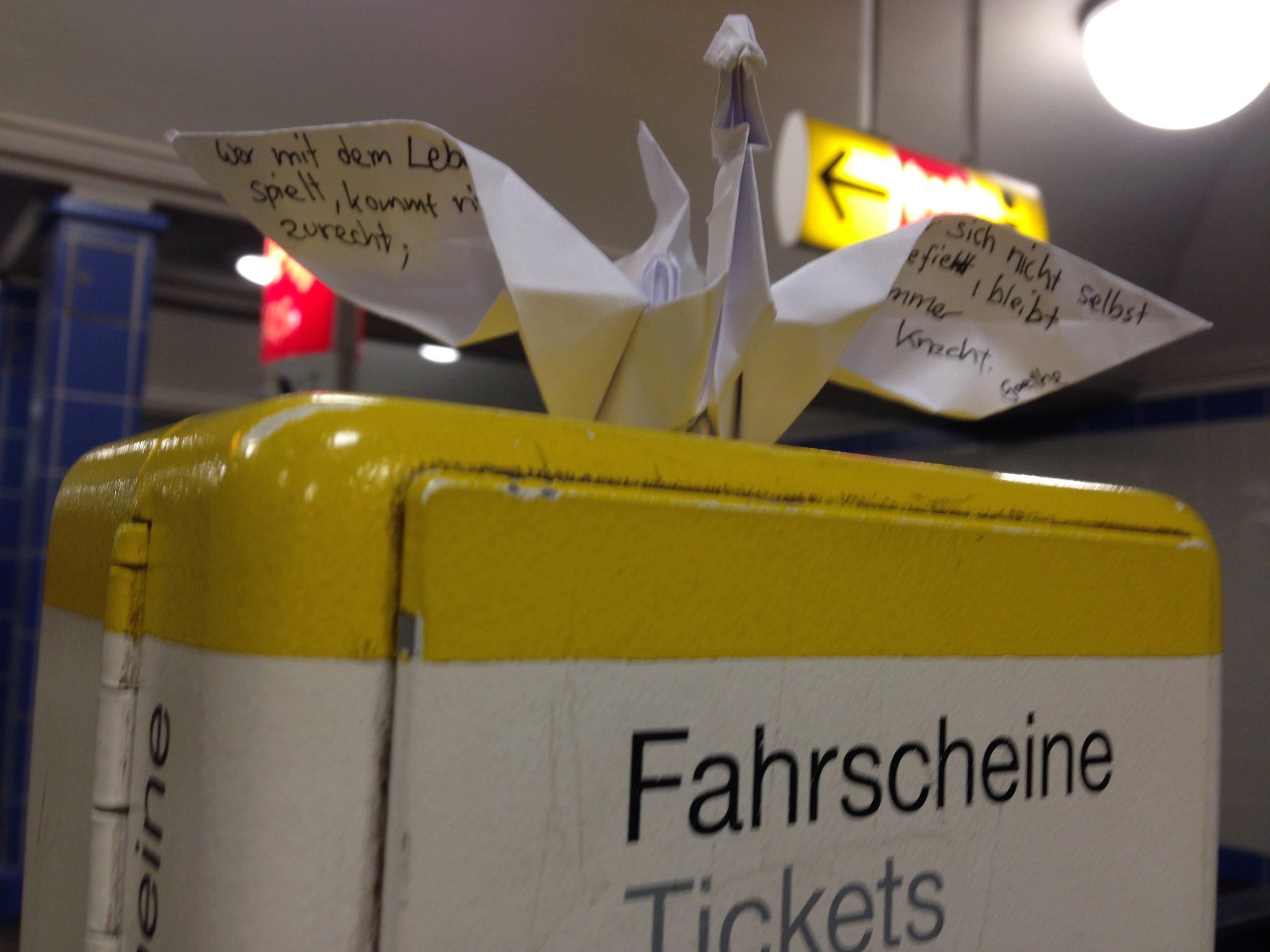 Origami Swan / Göethe