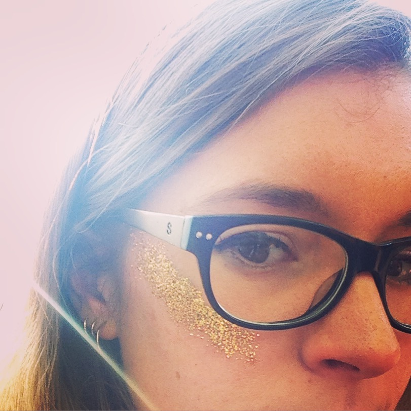 Glittered up for May 1st