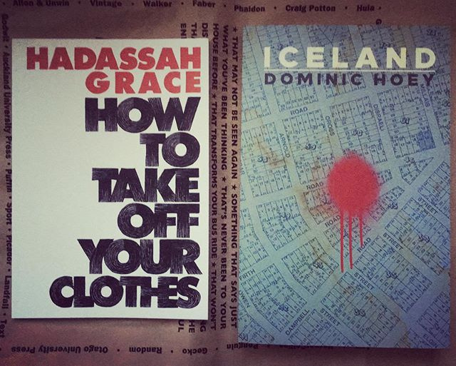 It's not every day you get to take two friends back to Berlin in your suitcase. Go read @hadassahgracepoetry and @dominichoey now, if you're as far behind the times as I am.