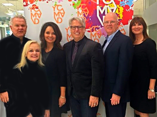 "May 10 is Melanoma Skin Cancer Awareness Training day at DASS. See ""Read Me"" for the story. Pictured from left to right:  Don and Sylvia Shaw, owners of DASS; Belinda and Frank Gambuzzi, owners of    Visage: Salon, Spa and Studio   ; Phil Fennel of    SalonWired   ; and Cheri Levitan, YCMAD Director."