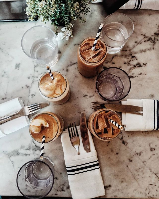 hi we love iced coffee also New York is very hot ☕☕☕☕ #icedcoffee#coffee#coffeeeee#coffeevibes#bluestonelane#flatlaystyle#flatlay#onthetableproject#onthetable#lookdown#dailycortado#cupinframe#coffeeshoptabletop#coffeelovers#mybeigelife#newyorkcoffee#instacoffee#ig_coffee#coffeestagram#whitetable
