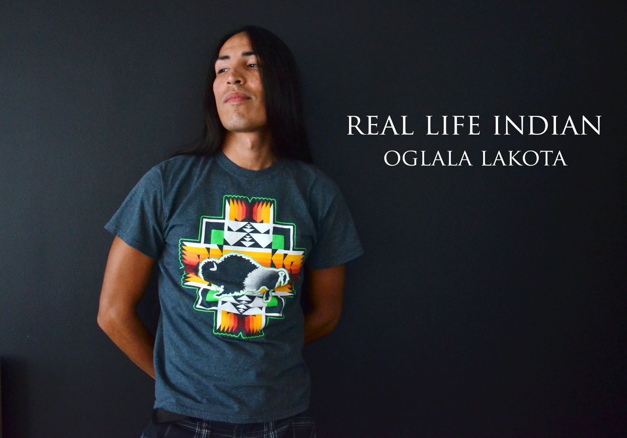 Cankpe Opi el tiospaye waye kin hetanhan (My family is from Wounded Knee)