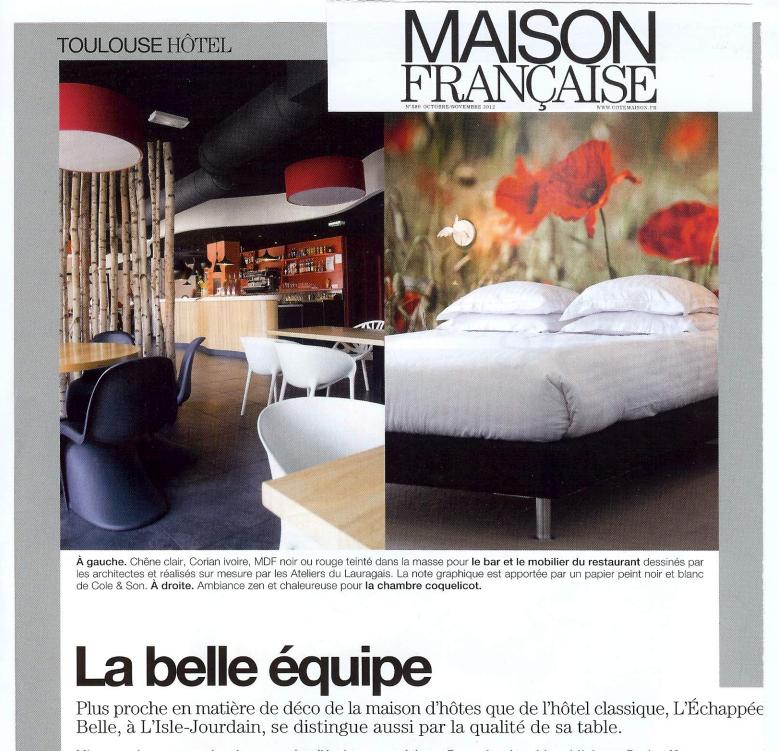 LA MAISON FRANCAISE - OCTOBRE 2012
