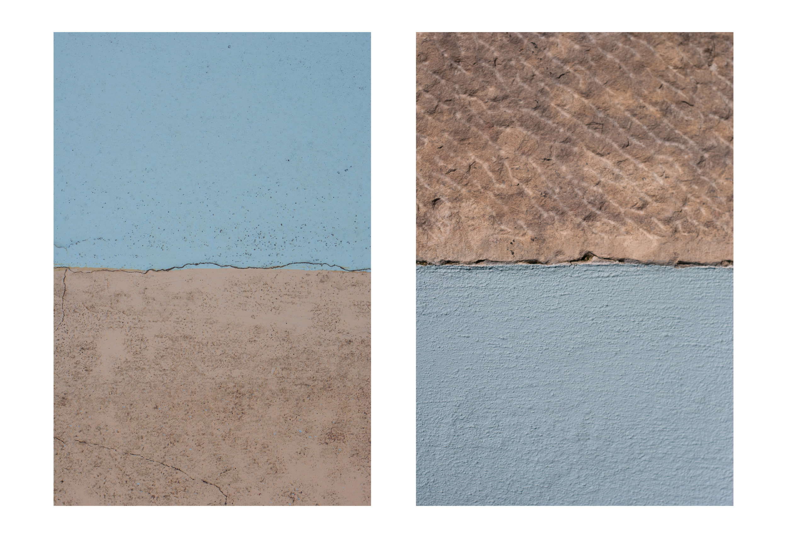 halfandhalf 1 (Pelotas) and halfandhalf 2 (Lisboa) by Gavin White