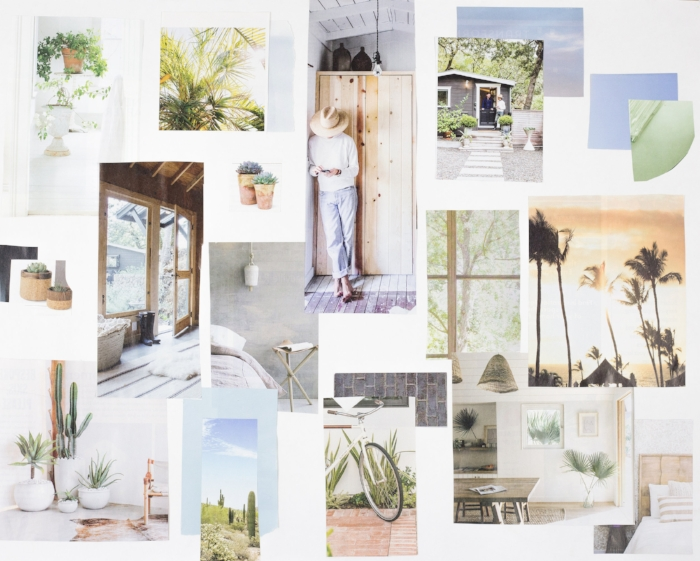 My mood board is my no means perfect and it doesn't have to be. It is there for you to draw inspiration from and to keep you focused on your brand colors and feel so you don't accidently stray.
