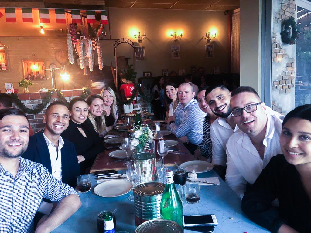 Our Sydney Eastern Creek team celebrating all of their hard work!