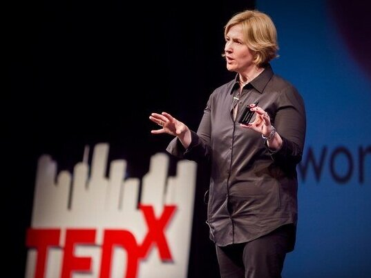 Brene Brown, Research Professor.  Source: Ted X.
