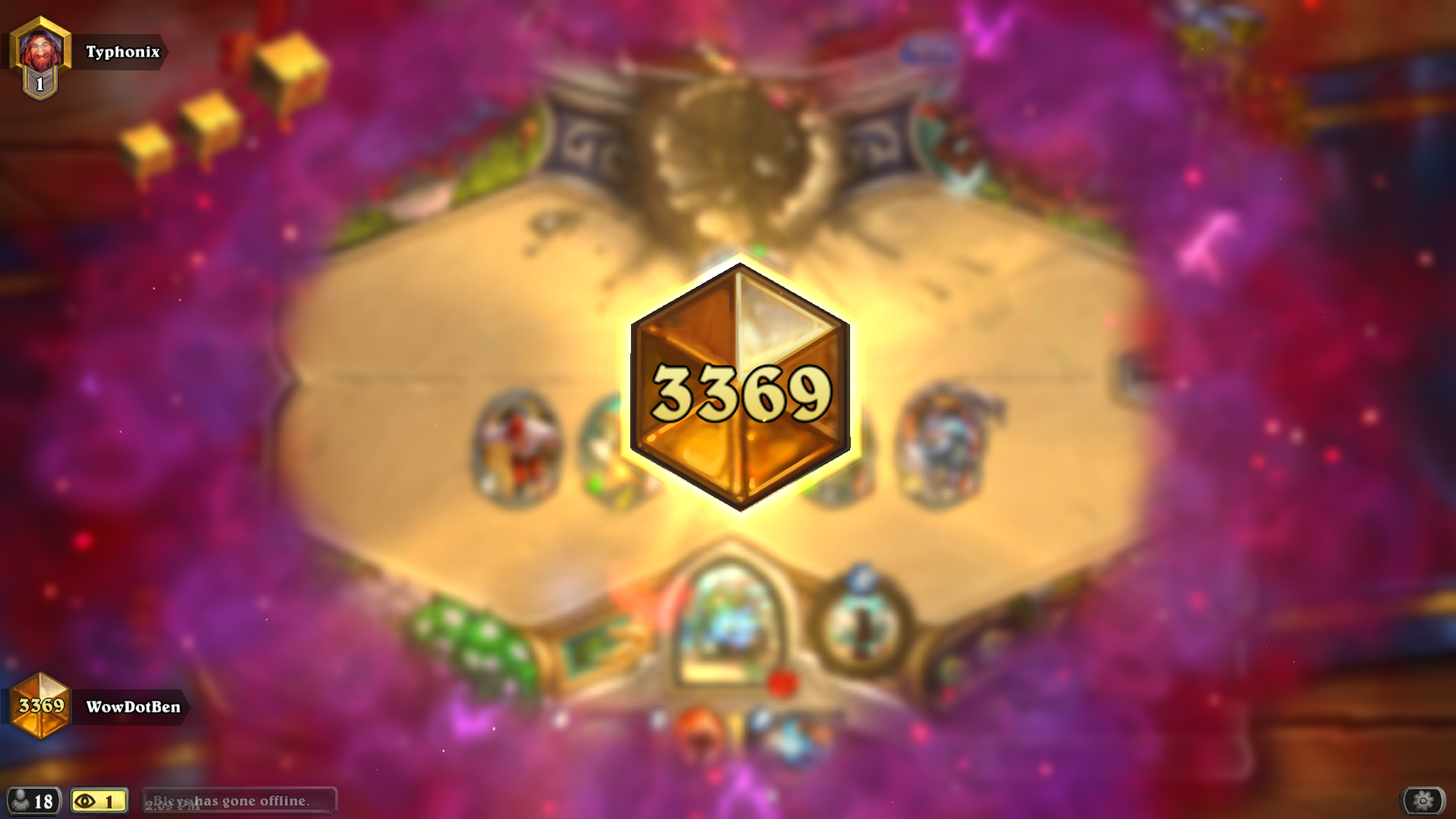 Hello,  I've been playing Heartstone since closed beta, I only played to Rank 20 for the card back. Just before the release of Wisps of the Old Gods I started playing more and more and my goal was Rank 5 every month. My highest rank was Rank 1, 2 stars which happened with Zoo just after the release of Wisps. I continued to get between ranks 5 and 1 then kinda got burnt out. I started listening to more podcasts, including this one and just worked on getting in the games. This month I went from a #DadLegend (I run the discord) to a #Legend player thanks to the help of another discord, #ThisTimeLegend.   I agree with what others have said, if you can get Rank 5, (Top 2%) you can get legend. It just about getting in the games. You are playing against the top .25% - 2% of players. It took me 448 games to get from Rank 18 to Legend.  Again, Thank you for the show and all that you do. You can get there Dan!