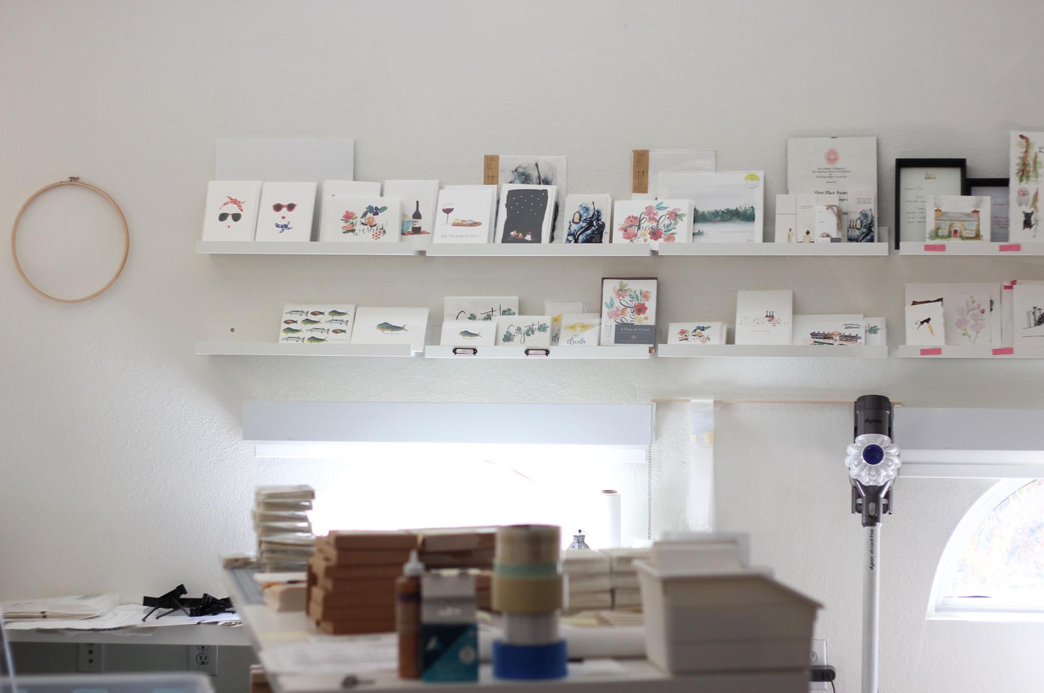 200 (-ish) square feet - of design and production studio.