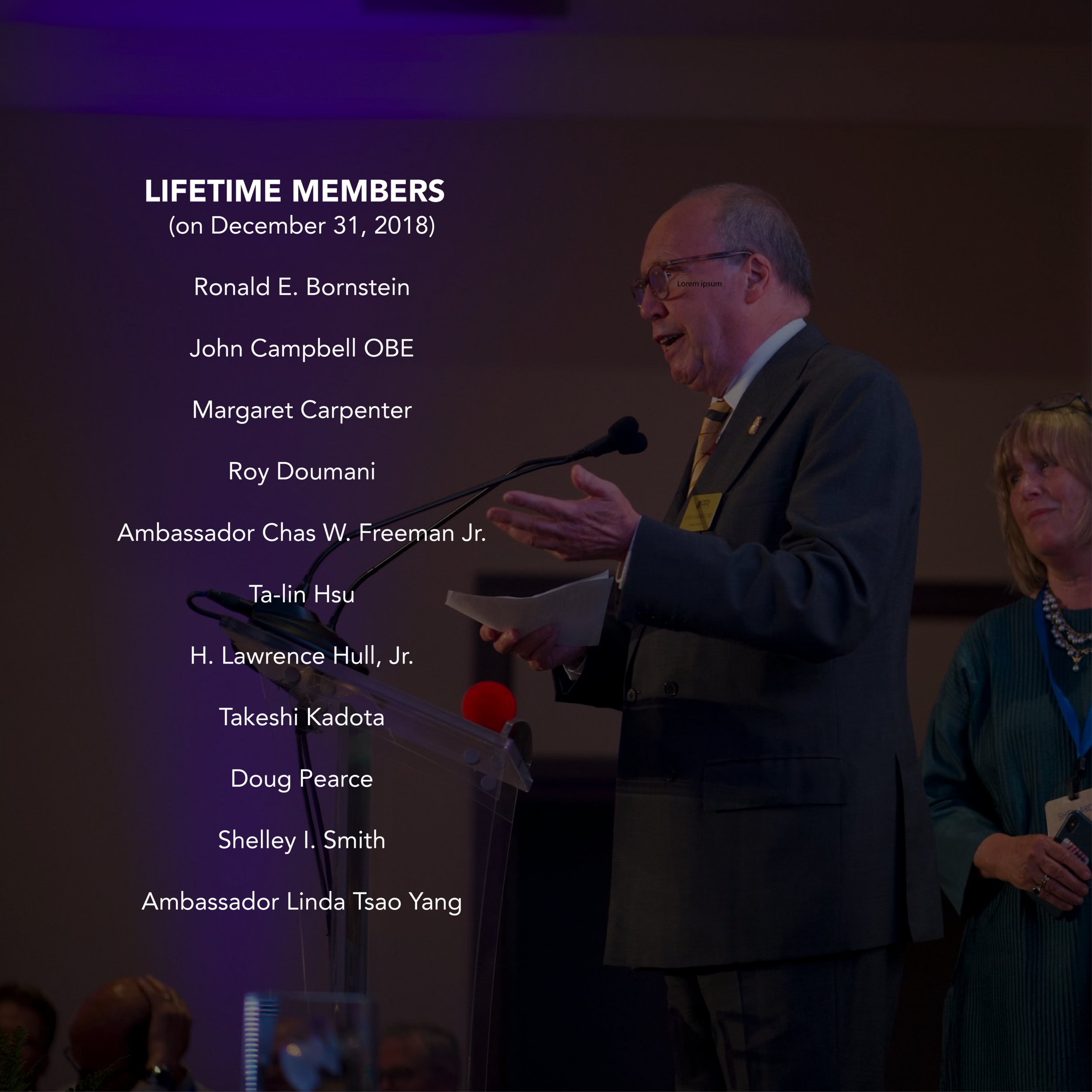 Lifetime Members