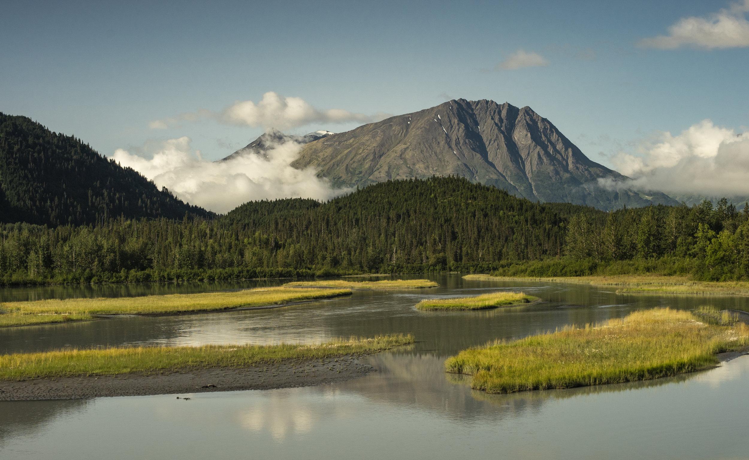 Chugach State Park, Alaska, July 2019