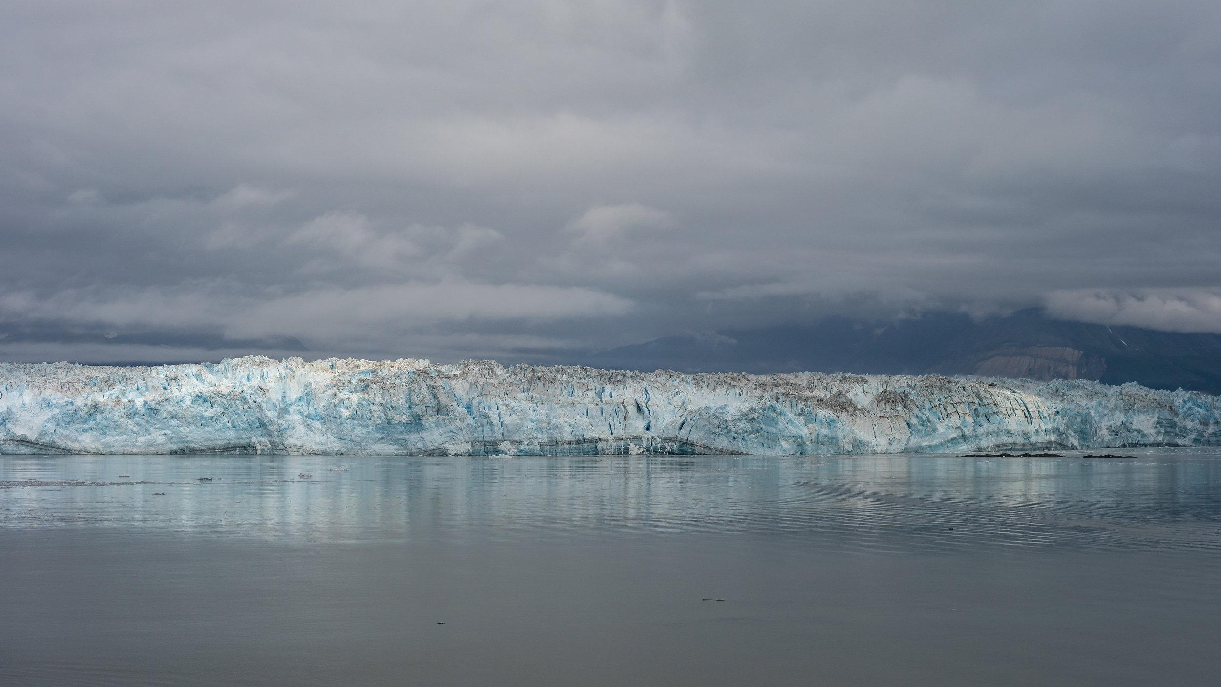 Hubbard Glacier, Alaska, July 2019