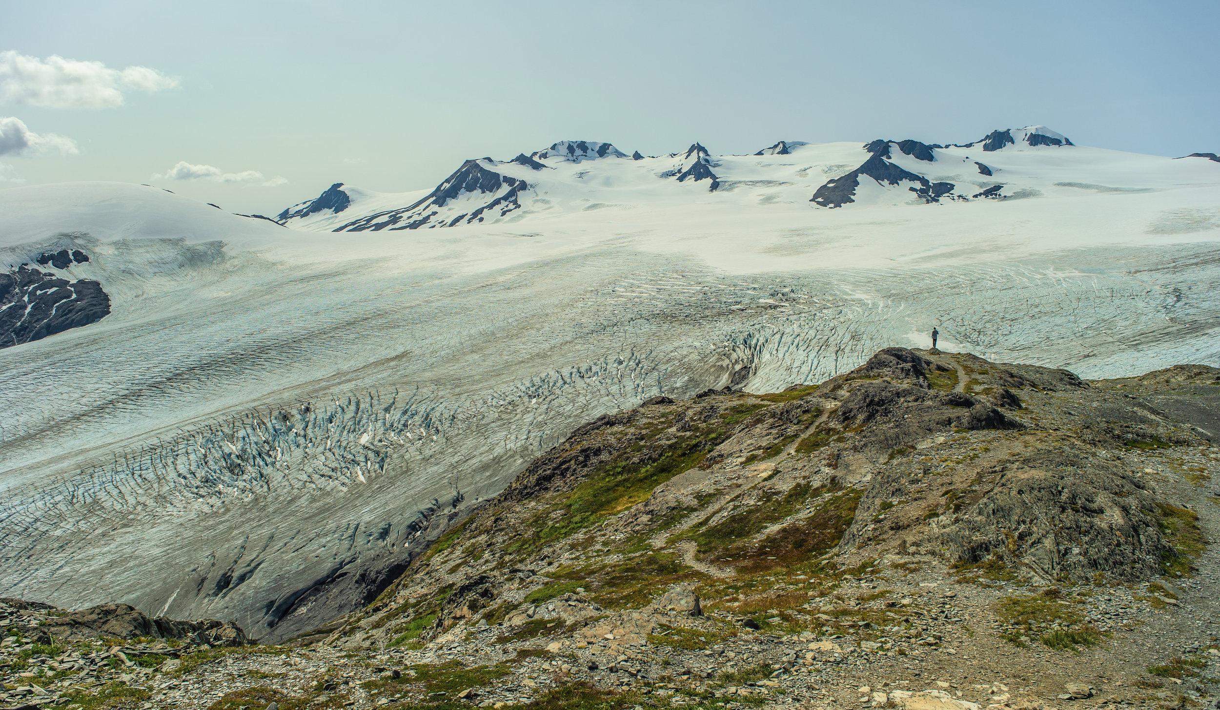 Harding Icefield, Kenai Fjords National Park, Alaska, August 2019