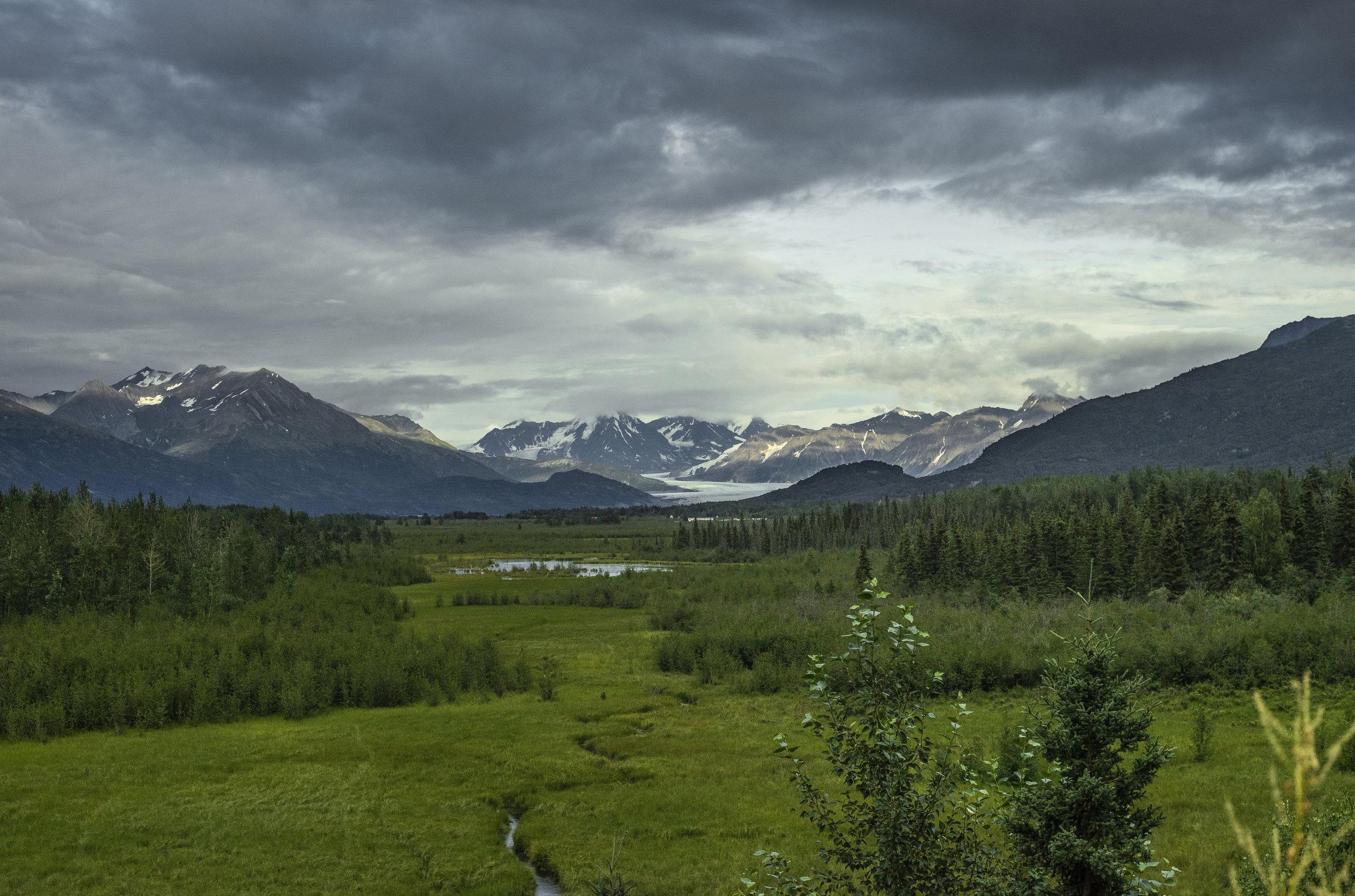 Knik Glacier, Alaska, July 2019