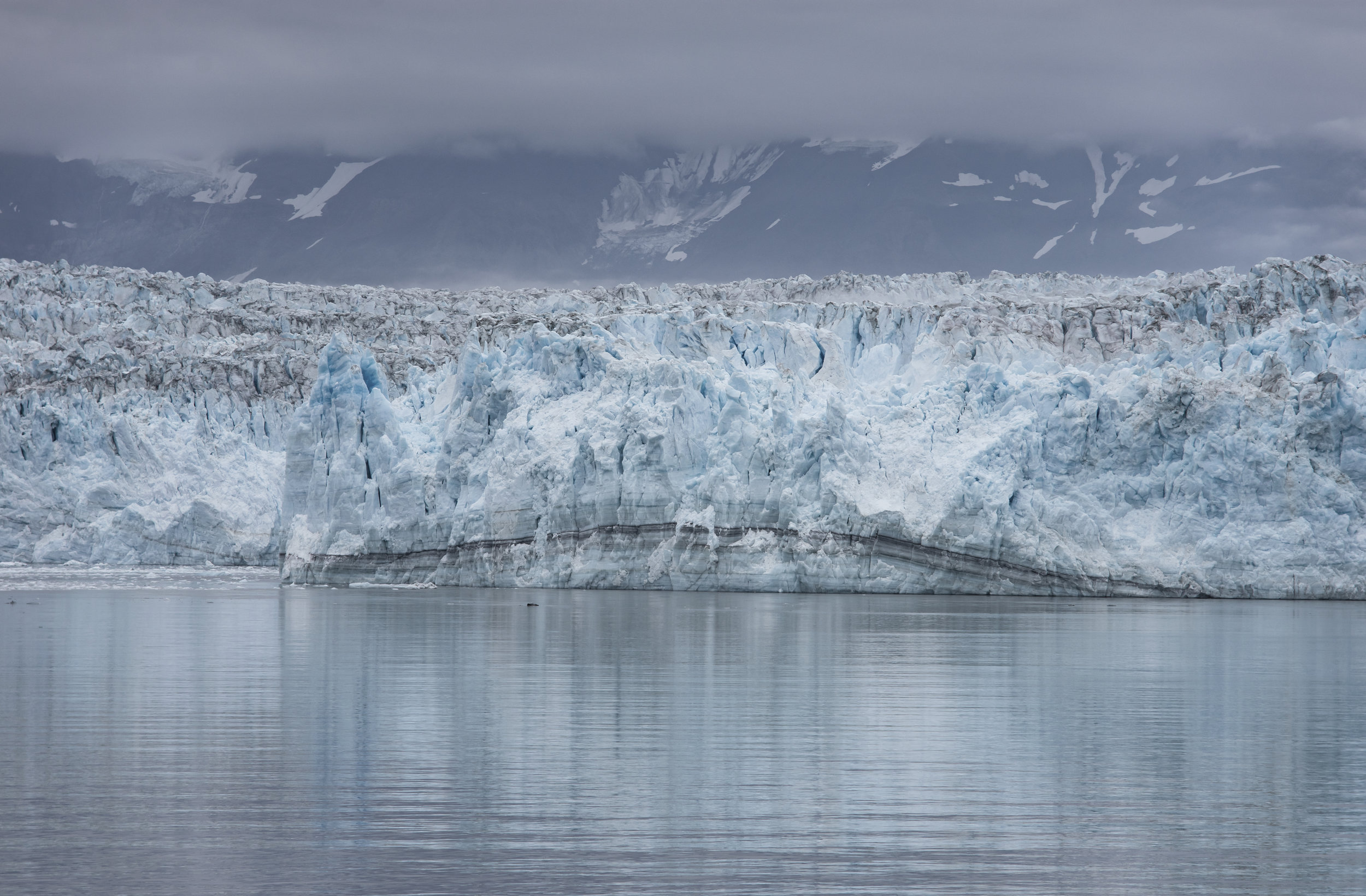 Hubbard Glacier (detail), Alaska, July 2019
