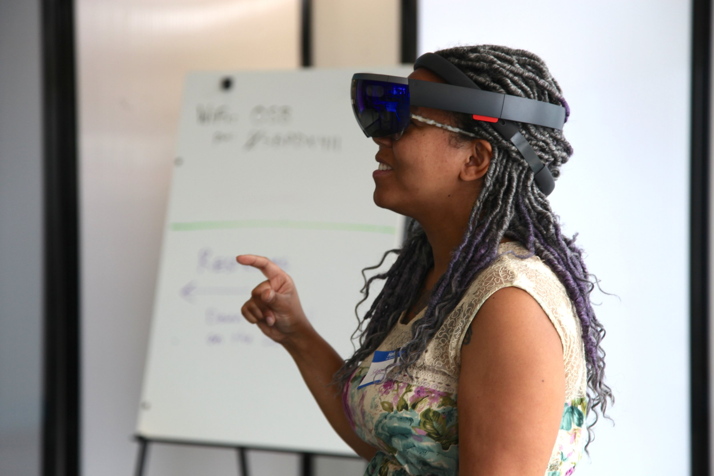 HoloLens - With a generous grant from Microsoft, Oregon Story Board and our partners at Clackamas Community College created a first of its kind training program to expand access to the latest technology, and invite new creators to design the future.