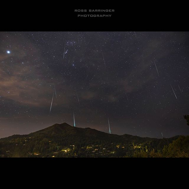 #geminidmeteorshower #shootingstars #mttamalpais #nightphotography #longexposure